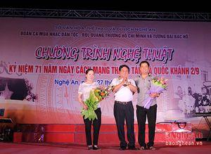 Hào hùng đêm nhạc kỷ niệm Quốc khánh và Cách mạng tháng Tám