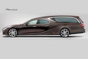 """Maserati Ghibli """"biến hình"""" xe tang hạng sang tại Ý"""