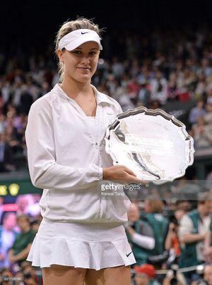 Ngắm vẻ đẹp tinh khôi của tay vợt Genie