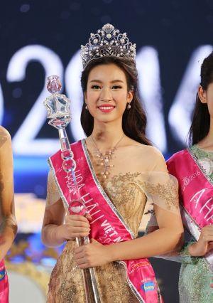 Khoảnh khắc đăng quang khó quên của tân Hoa hậu Việt Nam 2016 Đỗ Mỹ Linh