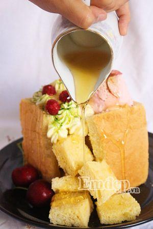 Học làm bánh mỳ mật ong của người Nhật Bản