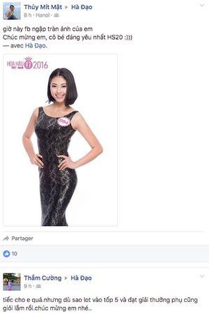 Người đẹp biển Đào Thị Hà: 'Không buồn vì điều gì, chỉ buồn vì trả lời không tốt'