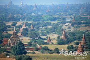 Tuyệt tác Bagan từng đẹp đến thế nào trước khi bị động đất hủy hoại?