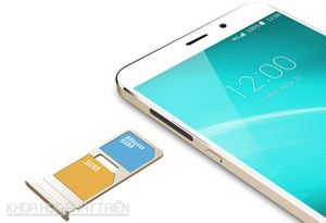 Ngắm vẻ đẹp của phablet RAM 4 GB, giá 4 triệu đồng
