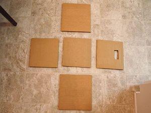 Tái chế bìa các-tông: 'Đóng' tủ đựng đồ với 6 bước đơn giản
