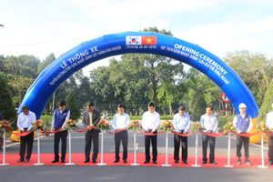 Thông xe tuyến đường hiện đại ở cửa ngõ sân bay Tân Sơn Nhất
