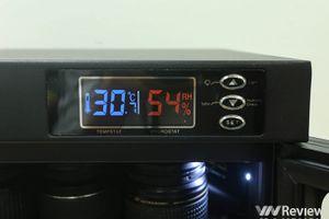 Trên tay tủ chống ẩm Nikatei NC-30S: thể tích 30 lít, giá hơn 2 triệu đồng