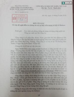 Thanh niên lên facebook 'nói xấu' bia Hà Nội, bị phạt 12,5 triệu
