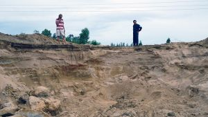Cát 'lụi' đe dọa nguồn nước sinh hoạt TP Quy Nhơn