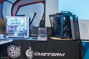 Cooler Master giới thiệu thùng máy MasterCase và MasterBox, hé lộ tản nhiệt MasterLiquid Maker 92