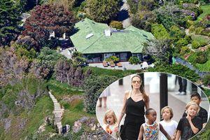 Angelina Jolie thuê biệt thự, đưa các con ra ở riêng