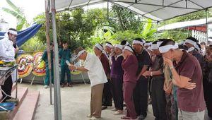 Chùm ảnh: Tang thương đám tang 4 bà cháu trong thảm án Quảng Ninh