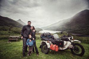 Nhà có ba người và hành trình 28,000 km vòng quanh châu Âu