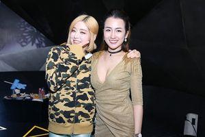 DJ Trang Moon đọ vẻ gợi cảm, nhí nhảnh với DJ Soda Hàn Quốc