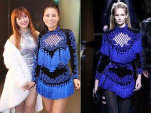 Nổi tiếng là tay chơi hàng hiệu, Thu Minh vẫn bị nghi mặc váy nhái