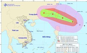 Bão Megi giật trên cấp 14 sẽ đổ bộ vào đảo Đài Loan