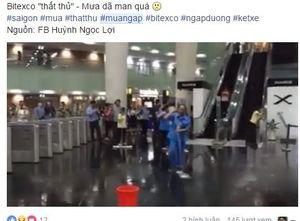 Dân mạng 'khóc ròng' trên Facebook vì trận mưa ngập khắp Sài Gòn