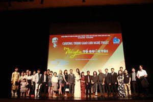 Giao lưu nghệ thuật thanh niên 'Tôi yêu Tổ quốc tôi' tại Hàn Quốc