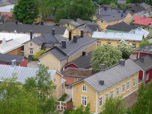 Vẻ đẹp nao lòng của khu phố cổ nổi tiếng Phần Lan
