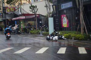 Bão Megi đổ bộ vào Đài Loan làm hơn 30 người bị thương