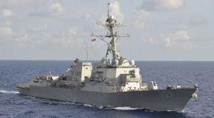Tàu chiến Mỹ sắp diễn tập cùng Hải quân VN