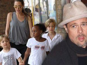Angelina Jolie đã kiểm soát 'trận đánh' với Brad Pitt