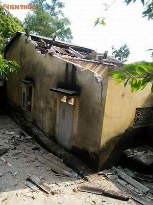 Cãi nhau với chồng, vợ đốt khí ga tự sát nổ tung mái nhà