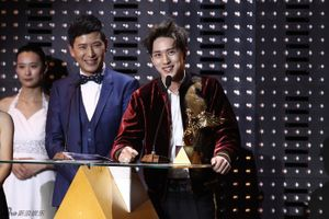 """Ngô Diệc Phàm """"te tua"""" như Cái Bang tại Giải Fresh Asia Award"""