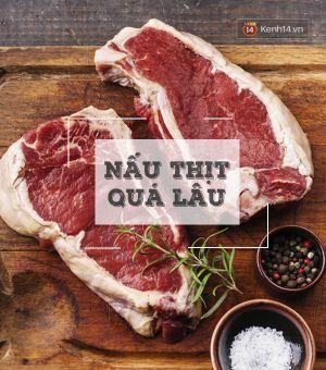 Bỏ ngay những thói quen chế biến thịt sau nếu không muốn ung thư