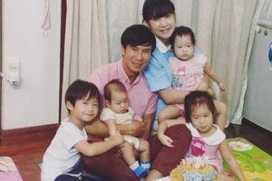 Ca sĩ Lý Hải đón sinh nhật giản dị bên vợ con
