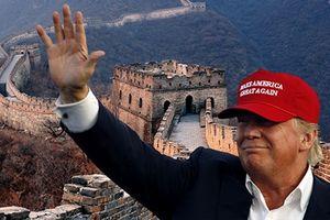 Vì sao Trump muốn xây tường bao vây Trung Quốc?