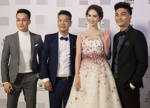 Ngọc Trinh lộng lẫy như công chúa tại Tuần lễ Điện ảnh Việt Nam ở Úc