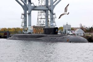 Tàu ngầm hạt nhân Nga phóng tên lửa Bulava