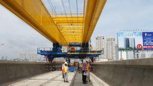 Hợp long cầu metro Sài Gòn tuyến đường sắt đô thị số 1