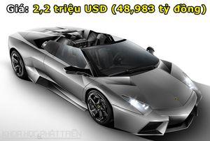 Top 10 siêu xe Lamborghini đắt nhất trong lịch sử