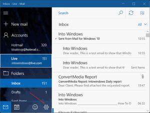 Cách xóa dòng Sent from Mail for Windows 10