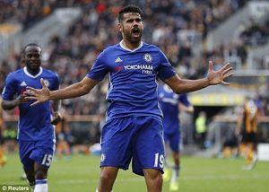Chelsea đánh bại Hull City nhờ 2 bàn thắng trong 6 phút
