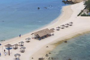 Bãi tắm đôi Đảo Yến-Hòn Nội: Thiên đường là có thật