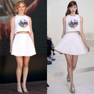 Quần jeans và tank top đến show Dior: Vâng, Jennifer Lawrence!