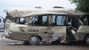Tài xế xe khách phanh gấp, 7 hành khách bị thương