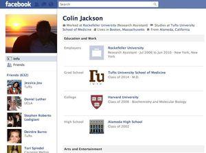 Đây là những tài khoản đầu tiên có mặt trên Facebook