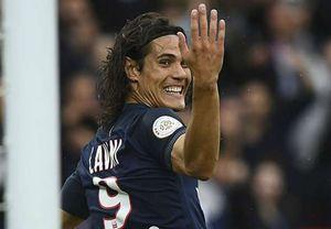 Cavani lập cú đúp, PSG thắng chóng vánh Bordeaux 2 - 0