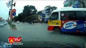 Xe bus chạy ẩu – Hung thần trên đường phố