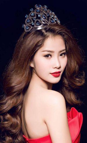 Bình chọn cho Nam Em đoạt giải thí sinh được yêu thích nhất tại Miss Earth 2016