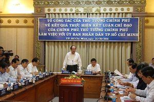 Tổ công tác của Thủ tướng Chính phủ đề nghị: TPHCM nỗ lực giảm thiểu ô nhiễm môi trường, ùn tắc giao thông