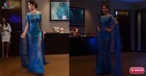 Video: Nam Em trình diễn trang phục dạ hội tại miss Earth