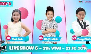 Liveshow 6 Giọng hát Việt nhí 2016: Phương Thanh 'đầu trọc' xuất hiện cùng thí sinh