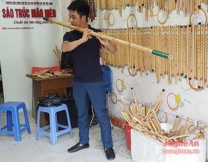 Cây sáo trúc lớn nhất Việt Nam