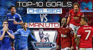 10 pha làm bàn đẹp nhất giữa Chelsea vs MU