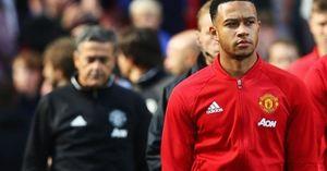 Depay gửi thông điệp đến Mourinho và CĐV Man Utd